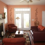 Kitchen & Living Room Peach Perfection