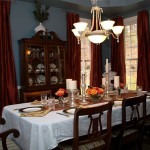 Dining Room with Homeowners Custom Touch
