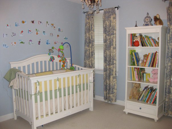 "Nursery Refinishing . . . In The ""Nick"" of Time"