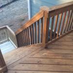 White-Mahogony Two-Toned Exterior Deck