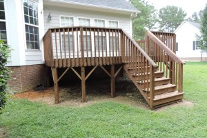 Rejuvenated Deck Restoration