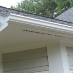 Direct to Metal Painted Gutters