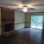 Raleigh Bungalow Remodel Bathroom, Living Room & Stairwell