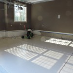 Garage Concrete Refinish Painting