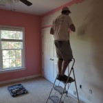 White to Pink Bedroom