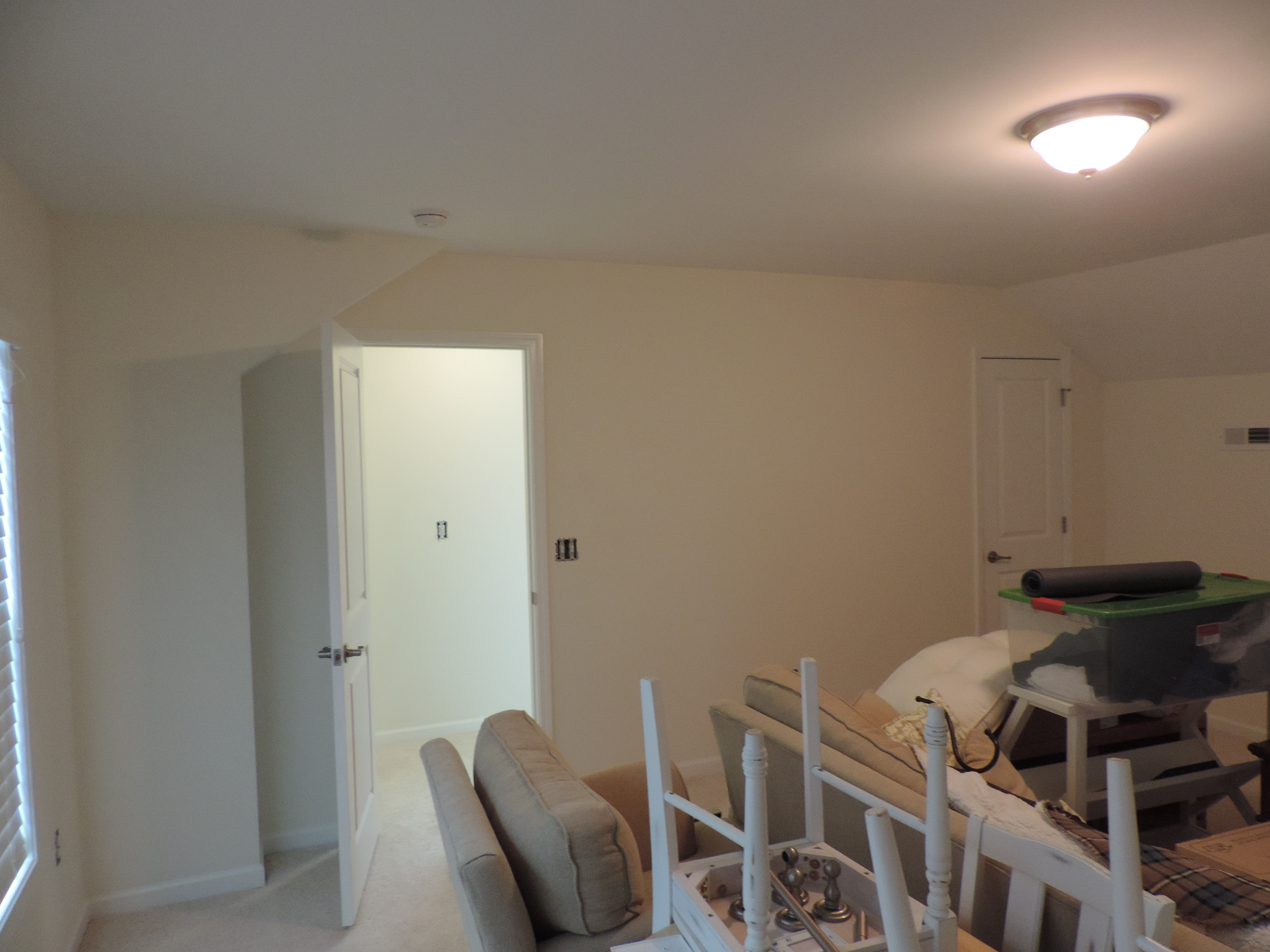 Bedroom into Stairwell Before