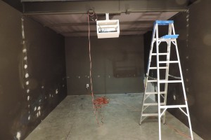 CAM of Raleigh: Projector Room Interior Painting